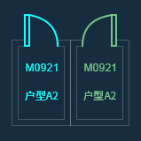 【浩辰云建筑】CAD建筑图中镜像图块中文字